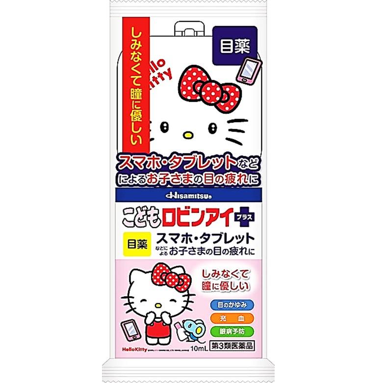 樂敦C3 [第3類醫藥品]兒童眼藥水 凱蒂貓 10ml