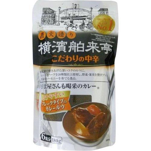 我家燒肉屋 橫濱Hakuraitei咖哩片180克X10件